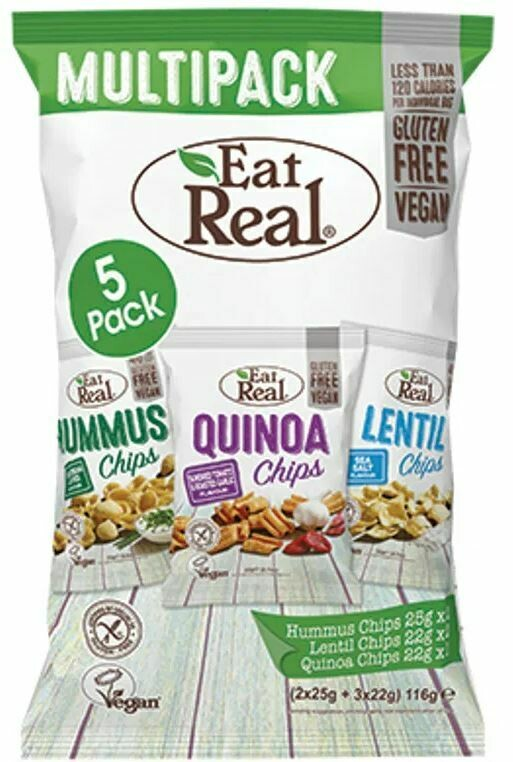 Eat Real Multi Flavour Pack 116g