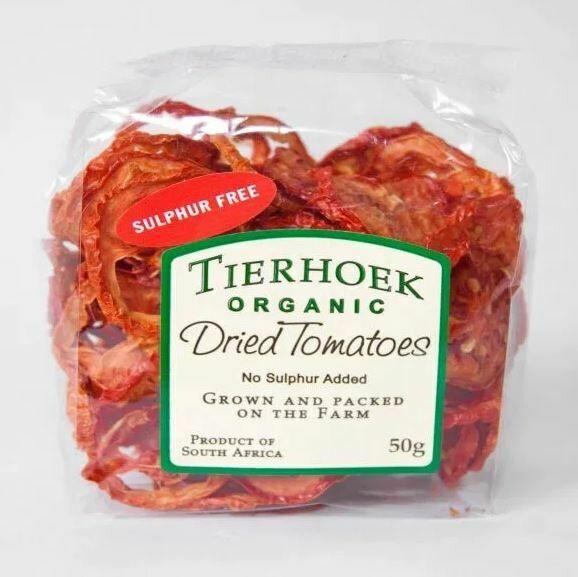 Tierhoek Organic Sundried Tomatoes 50g