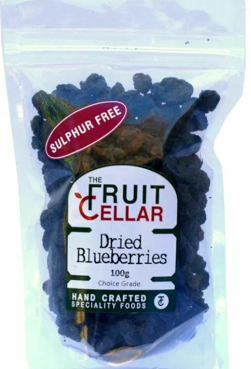 The Fruit Cellar – Blueberries 100g