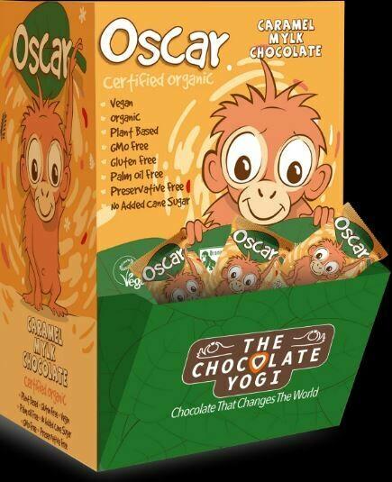 The Chocolate Yogi Oscar Bulk Pack (15 - 5 of each flavour)