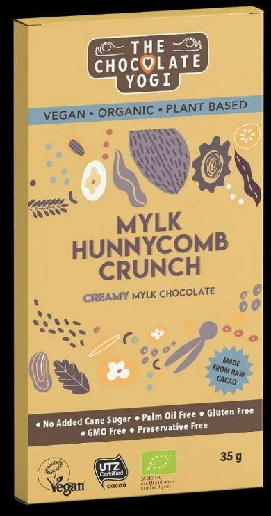 The Chocolate Yogi Mylk Hunnycomb Crunch 35g
