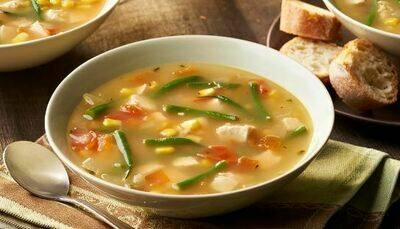 Chicken and country vegetable soup 500ml