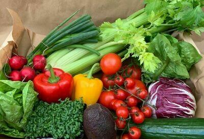 Family Seasonal Salad Box