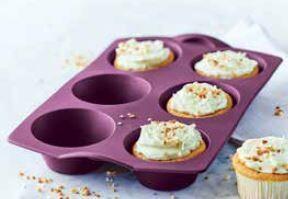 Silicone Baking Form Tupcake (115 ml x 6) 29,8 cm x 19,4 cm (plus 15 eggs free)