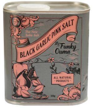 Funky Ouma Black Garlic Salt 320g