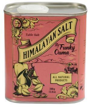 Funky Ouma Plain Himalayan Salt 360g