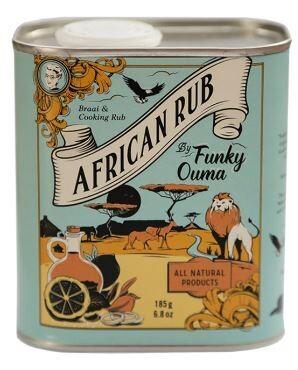Funky Ouma African Rub 185g