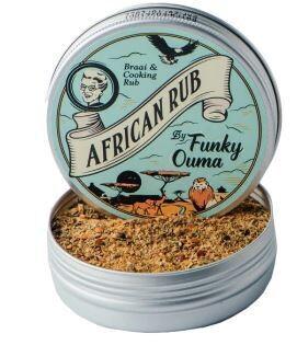 Funky Ouma African Rub Tin