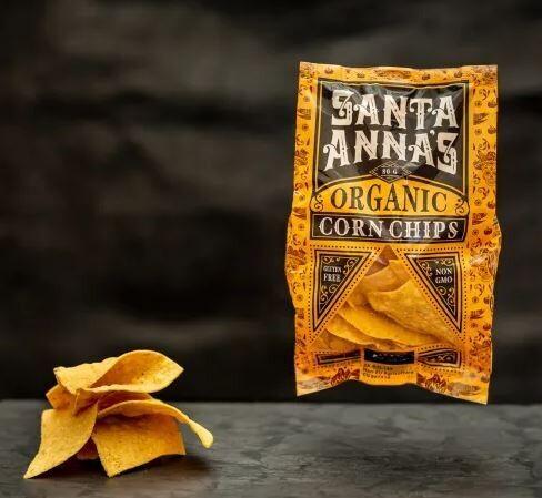 Santa Anna's Organic Corn Chips 250g