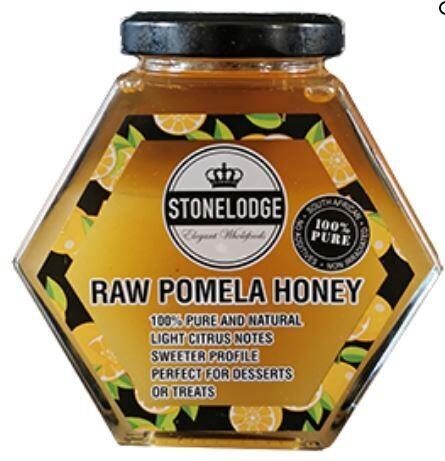Raw Pomelo/Citrus Honey 390g