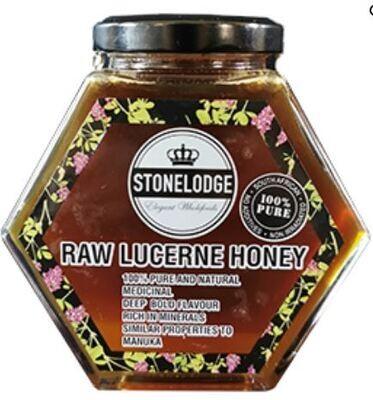 Alfalfa/Lucerne Raw Honey 390g