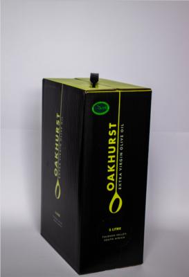 Oakhurst Extra Virgin Olive Oil (5 Litre) (Pre Order only)