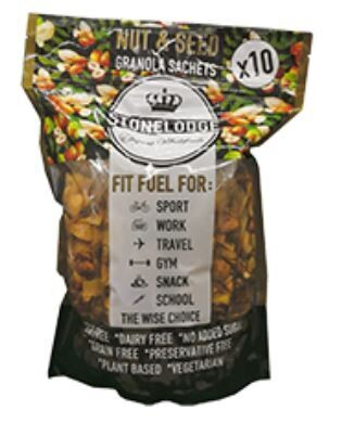 Nut & Seed Granola Sachet Pack 10x30g