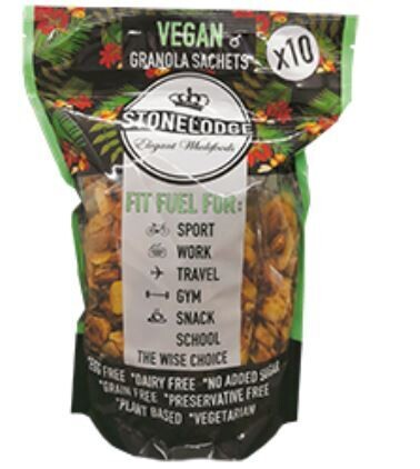 Vegan Granola Sachet Pack 10x30g