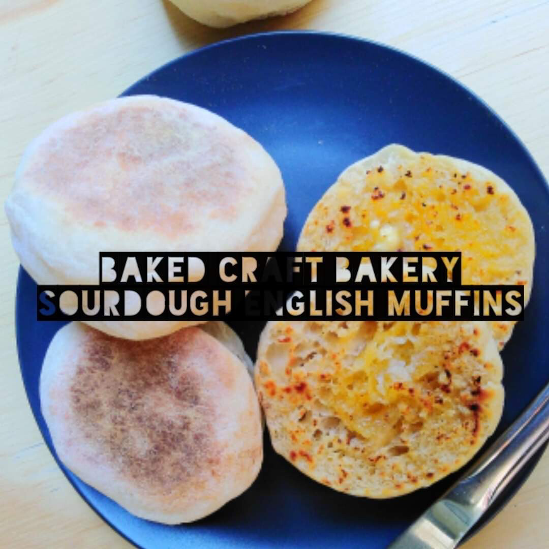 Sourdough English Muffins (6)(Fresh)
