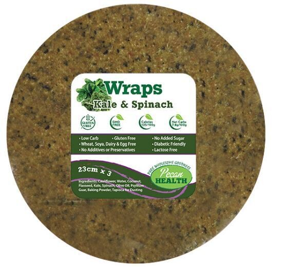 KALE & SPINACH WRAPS (3)