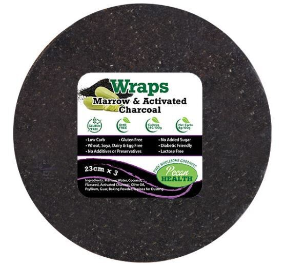 MARROW & ACTIVATED CHARCOAL WRAPS (3)