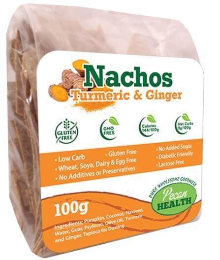 TURMERIC & GINGER NACHOS 100g