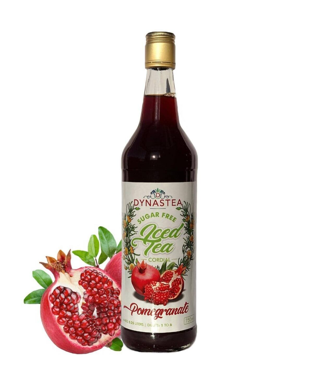 Dynastea Sugar Free Iced Tea Cordial Pomegranate 750ml