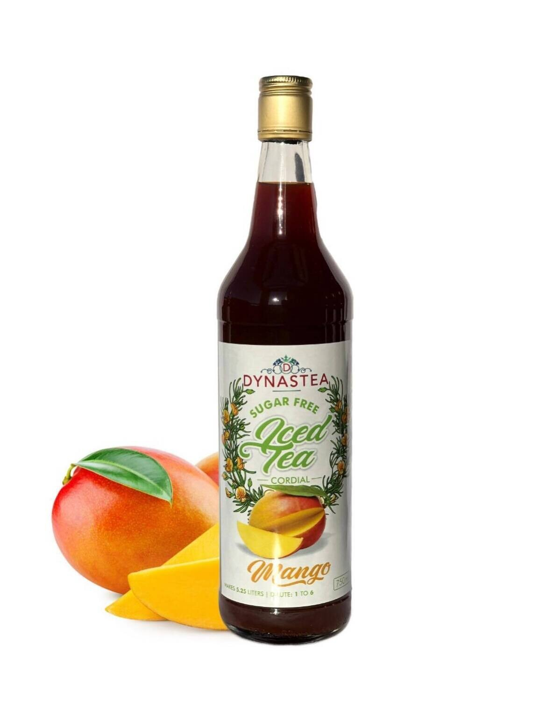 Dynastea Sugar Free Iced Tea Cordial Mango 750ml