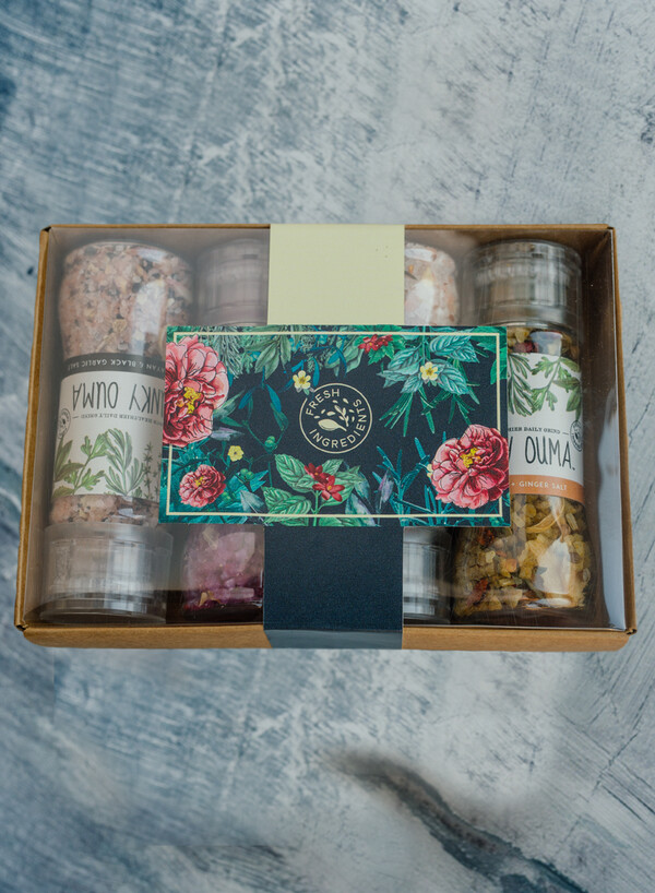 THANK YOU FLORAL PRINT Four Pack Mini