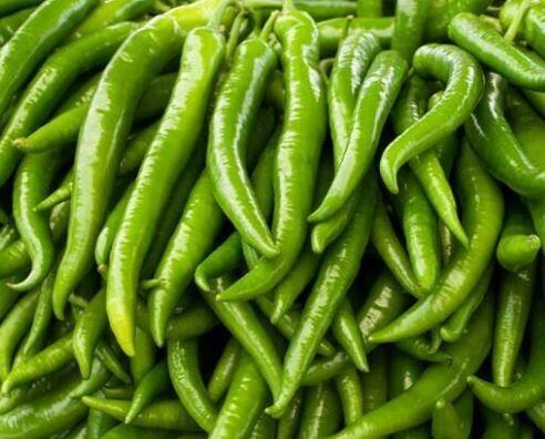 Chillies 100g (Green)