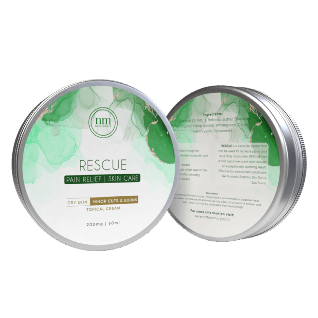 Rescue All-In One Skincare and Pain Relief Salve