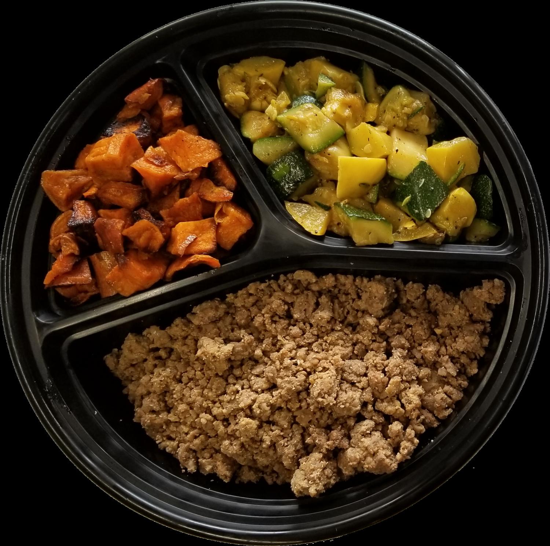 Custom Lean Ground Beef Meal