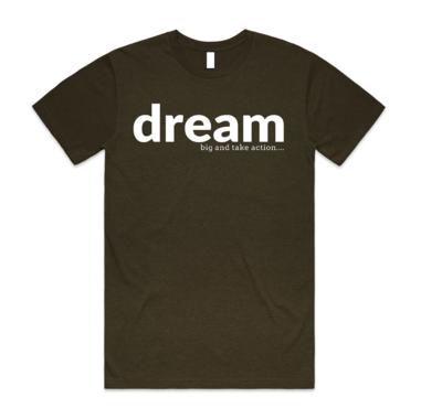 Men's - Dream Big Take Action