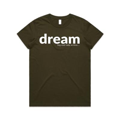 Women's - Dream Big Take Action
