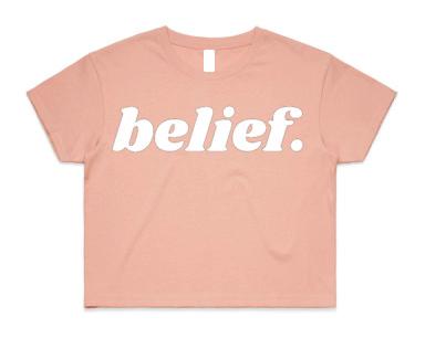 Women's - Belief Crop