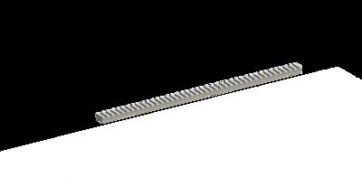 Picatinny-Schienen Rohlinge