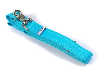 """DOUBLE HANDLE LEASH  - 1"""" (w/ HD Lobster claw clip)"""