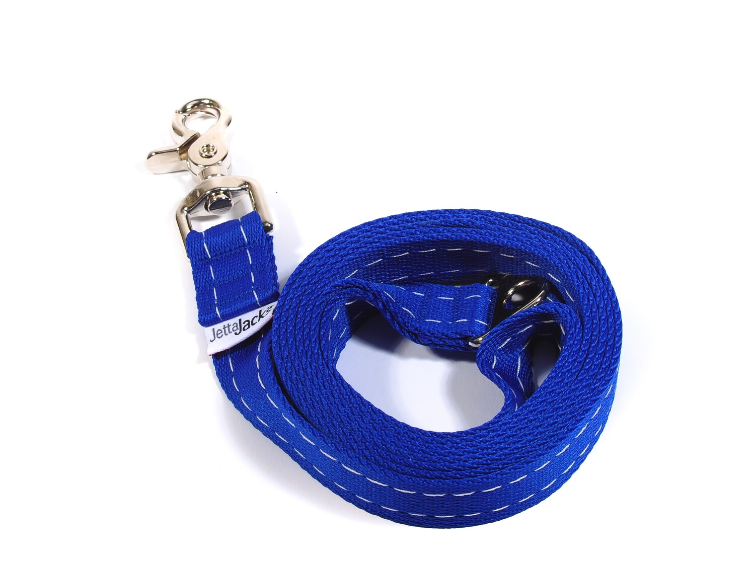 "DOUBLE HANDLE LEASH  - 1"" (w/ HD Lobster claw clip)"
