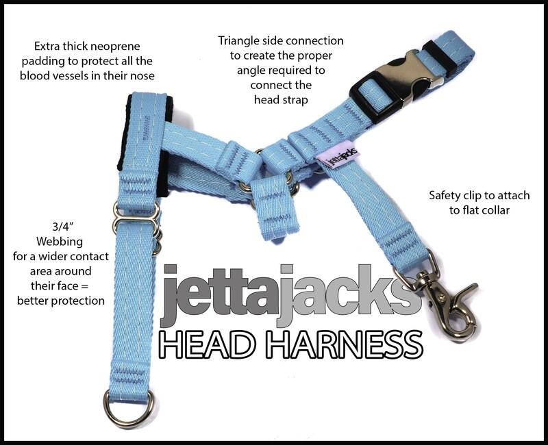 JETTAJACKS HEAD HARNESS - 3/4