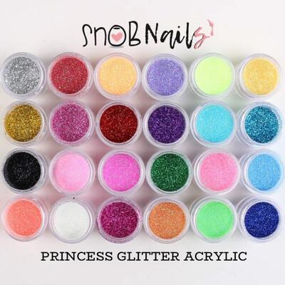 Snob Nails Princess Glitter Acrylic Collection