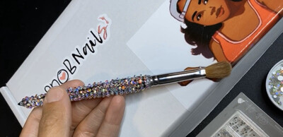 Bling Acrylic Brush