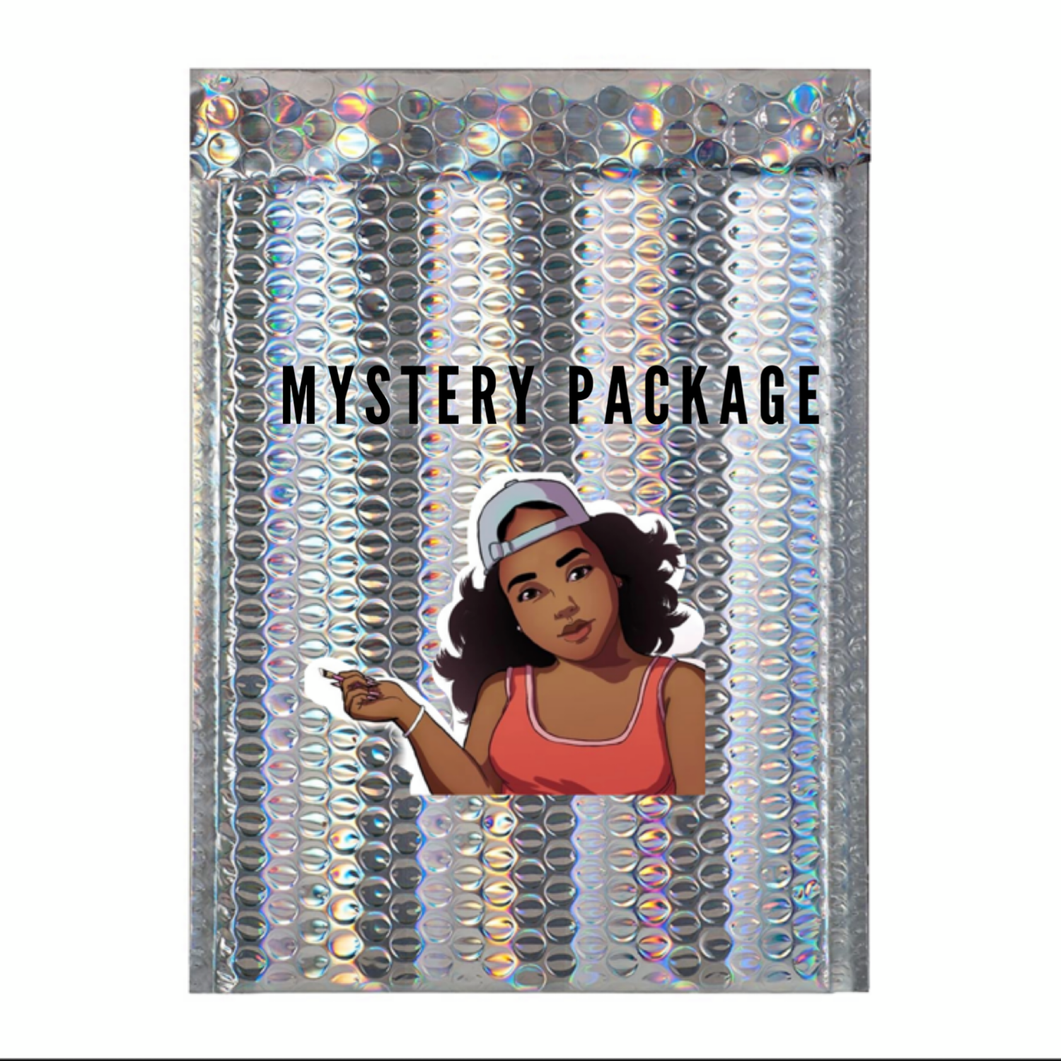 5 Colored Acrylics Mystery Package