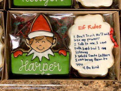Elf Cookies Gift Set (11-28 Delivery, pickup available)