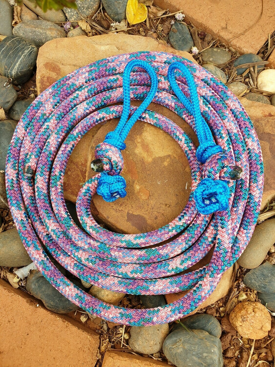 Unicorn Rope Reins with Bit Connector