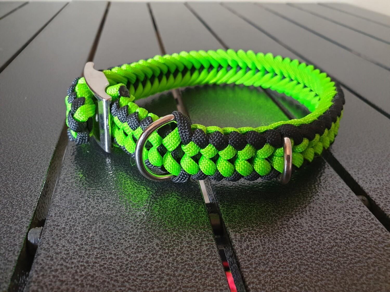 Lime & Black Small Collar