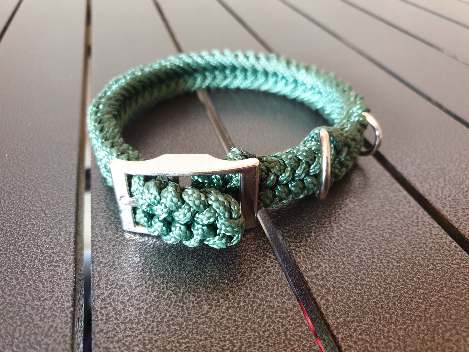 Hunter Green small collar