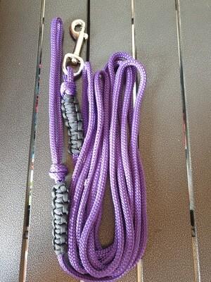 Purple and Black 4m lead