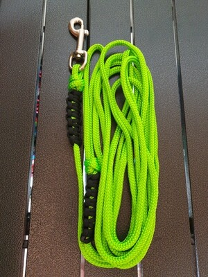 Lime and Black 4m lead