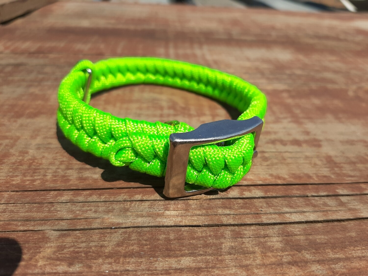 Lime x-small dog collar