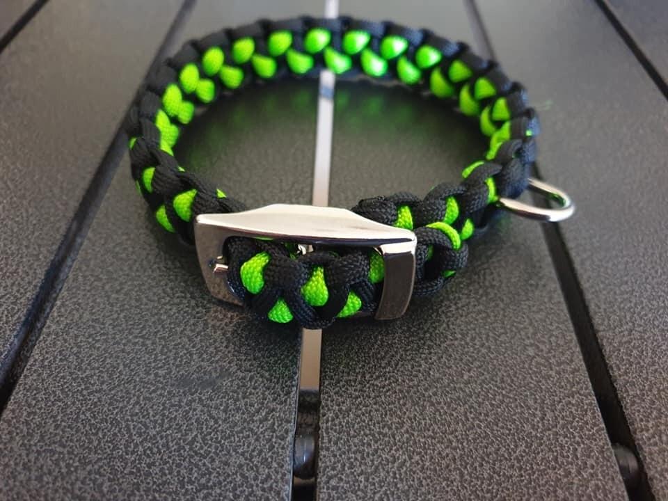 Black and Lime Drakon Collar