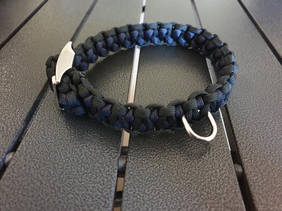 Black and Navy Drakon Collar