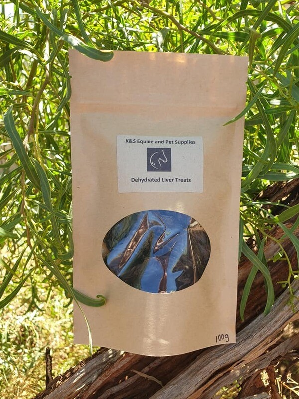 Dehydrated Liver 100g Bag