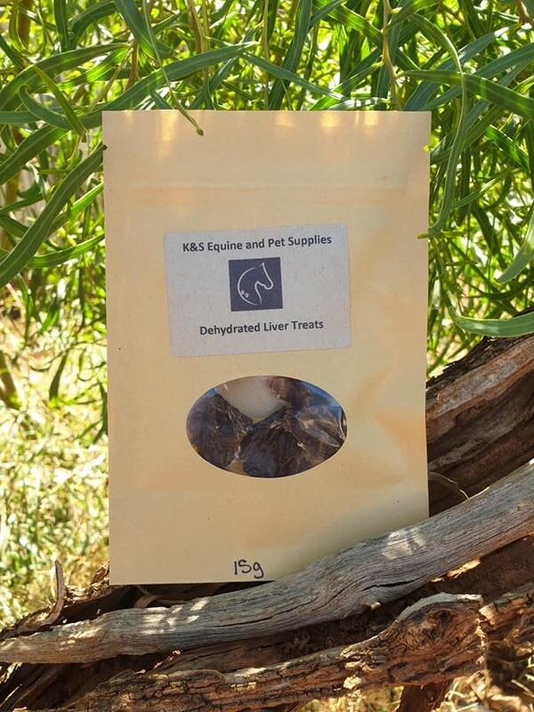 Dehydrated Liver 15g Bag