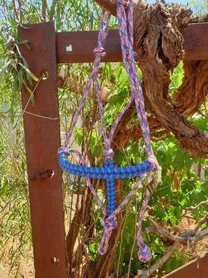 Unicorn Blue and Purple Halter